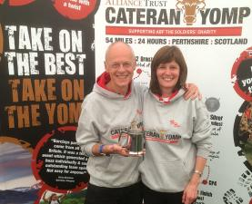 Cateran Yomp ... First Lady and Fastest Mixed Team