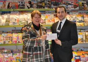 Tuffins Supermarket support us through their MADL charity