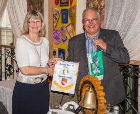 2015-05-29 Visit of Rotaryklubb Bryne, Norway.