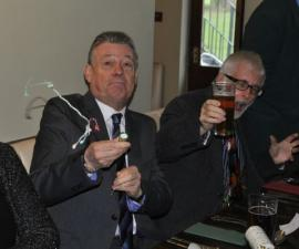 Rotarian golfers Christmas lunch at the Portway Inn