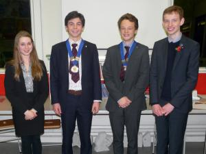 Oswestry School Interact 2015 Members Take Office