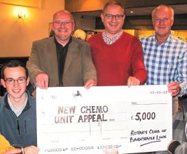 QUIZ NIGHT & CHEQUE PRESENTATION