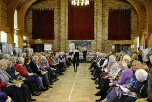 Charity fashion show and Ex high street clothes sale at the Knighton Community Centre