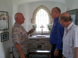 DG Visits Chapel