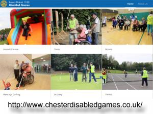 Rotary District 1180 Fun Disabled Games 10.00am-3.00pm