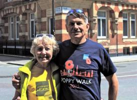Unofficial Poppy Walk - May 2016