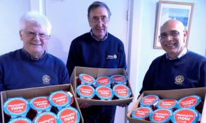 2017 Christmas Pudding Appeal for 'Meningitis Now' - 11 Dozen Puds Ordered! ManyThanks