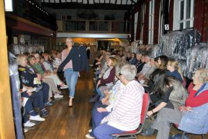 Charity Fashion Show at the Knighton Hotel