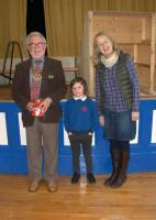 President Howard talks about polio to Knighton Primary School