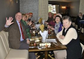 Golfing Rotarians Xmas Lunch at the Portway