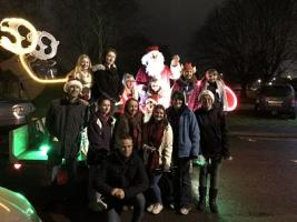 2017 Christmas - 53rd visit of Father Christmas to Daventry