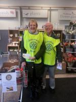 CHRISTCHURCH  ROTARY  COLLECTION FOR  THE FOOD BANK AT WAITROSE