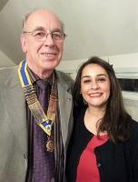 SOPHIA CHOWDHRY SPEAKS AT CHRISTCHURCH ROTARY MEETING