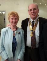 Barbara Miller - National Charity Worker speaks at Christchurch Rotary Meeting