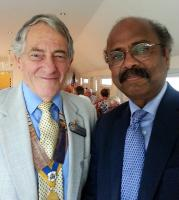 PROFESSOR ILANKOVAN SPEAKS AT CHRISTCHURCH ROTARY CLUB MEETING