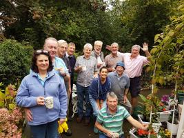 Christchurch Rotary Club bring sparkle to Dacombe Homes