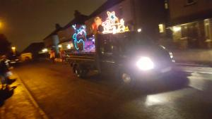 Santa Float - Day 3 - Bailiff Bridge