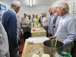 Pork Pie making - Waterloo Cottage Farm, Great Oxendon