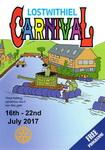 2017 Carnival Programme delivered to every home in Lostwithiel during the weeks leading up to the 2017 Lostwithiel Carnival