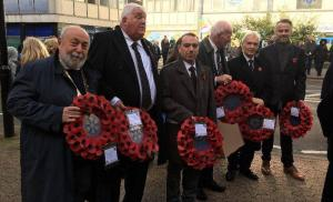 Remembrance Sunday in Croydon