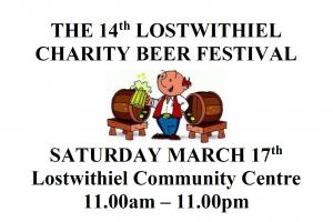 The 14th Lostwithiel Charity Beer Festival