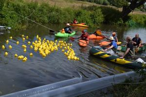 The Second Great Godalming Duck Race 2018