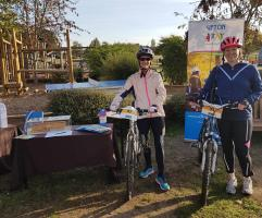 Support for Ufton Court bike ride