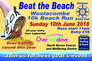 Woolacombe 10k Beach Run 2018