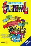 This programme will be delivered to every home in Lostwithiel during the weeks leading up to the 2018 Lostwithiel Carnival