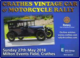 2018 Crathes Vintage Car and Motorcycle Rally