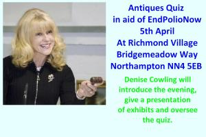 Antiques Quiz  in aid of EndPolioNow