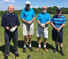ANNUAL GOLF DAY RAISES £1900