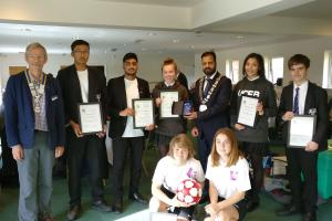 Chesham Grammar at Rotary meeting