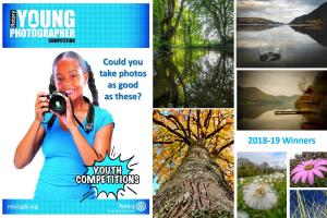 The digital camera has revolutionised photography. As a talent and art form, Rotary celebrates the photographic skills of young people with a sequence of competitions that allows them to demonstrate and display what they can produce