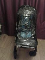 Wheelchair buggy rain cover for disabled child