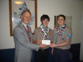 Support for Scouts for World Jamboree
