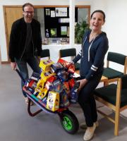 Reading Rotary Clubs spread a little Extra Easter Eggstacy with Berkshire Egg Run deliveries.