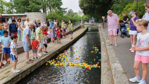 East Cliff Rotary Summer Charity Duck Race
