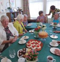 Tea Party for Contact the Elderly