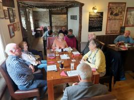 Lunch meeting, Farmers Arms Presteigne