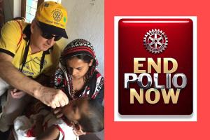 Speaker - Brian May: End Polio Now