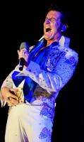 Elvis entertains