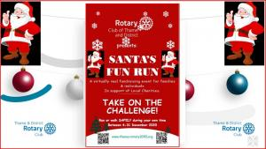 Thame & Villages Santa Fun Run