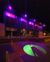 Bearsden Hub Illuminated for World Polio Day