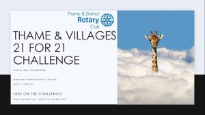 Thame & Villages 21 for 21