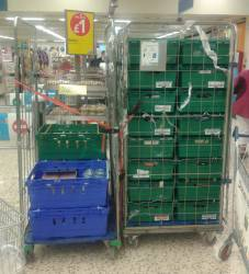 Rotary to the AID of local FOOD BANK