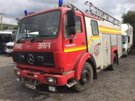 BODMIN FIRE APPLIANCE to ALBANIA - May 2019