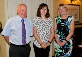 New recruit Gillian joins Rotary