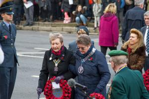 Remembrance Sunday in East Grinstead 2017