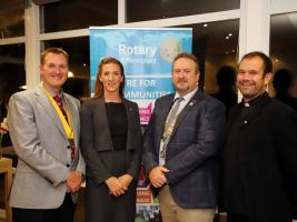 ​History being made at Newquay Rotary Club​